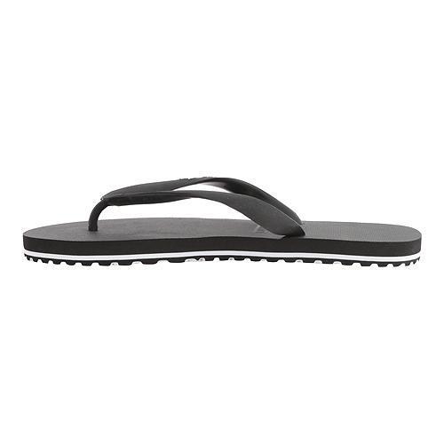 375061323f4d ... Thumbnail Men  x27 s Lacoste Nosara Flip Flop Black White Synthetic