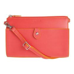 Women's Lodis Audrey Vicky Convertible Crossbody Clutch Coral/Maize