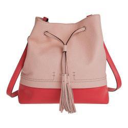 Women's Lodis Kate Cara Convertible Drawstring Handbag Coral