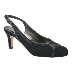 Women's Ros Hommerson Java Slingback Black Microtouch