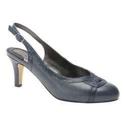 Women's Ros Hommerson Java Slingback Navy Combo Leather
