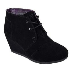 Women's Skechers BOBS High Notes Behold Wedge Ankle Boot Black