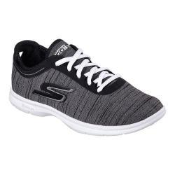 Women's Skechers GO STEP Vast Walking Shoe Black/White