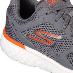 Men's Skechers GOrun 400 Running Shoe Charcoal/Orange