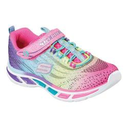 Girls' Skechers S Lights Litebeams Bungee Lace Sneaker Multi