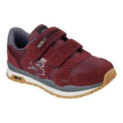 Boys' Skechers Throwbax Sneaker Burgundy