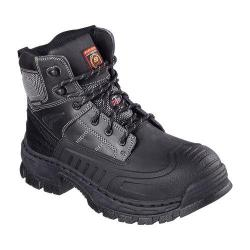 Men's Skechers Work Relaxed Fit Vinten Steel Toe Boot Black