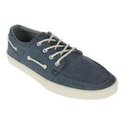 Men's Crevo Covert Moc Toe Sneaker Navy Textile