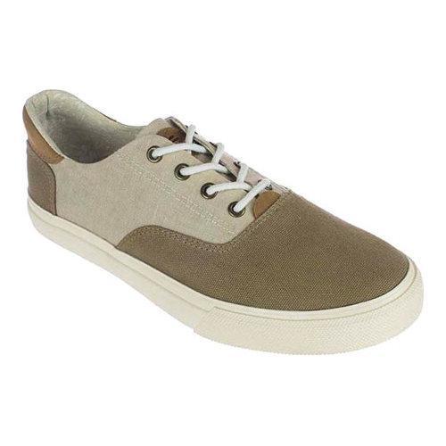 Men's Crevo Tiller Sneaker Taupe Canvas