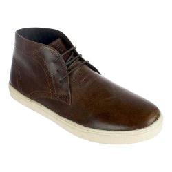 Men's Crevo Marston Chukka Sneaker Brown Leather