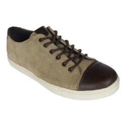 Men's Crevo Quinton Cap Toe Sneaker Tan/Brown Suede