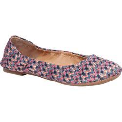Women's Lucky Brand Emmie Flat Multi Zig Zag Textile