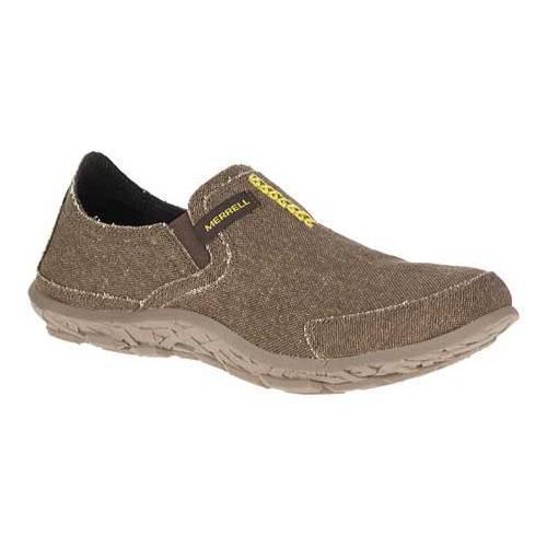 cb303c0ab7c Shop Men s Merrell Merrell Slipper Dark Brown Lime - Free Shipping Today -  Overstock - 12028581