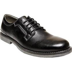 Men's Madden Crosovr Plain Toe Oxford Black Synthetic