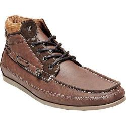 Men's Madden Grifin Boat Shoe Dark Brown Synthetic