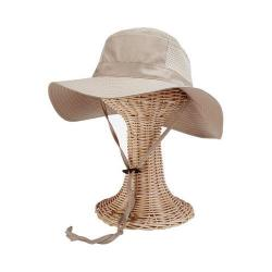 Women's San Diego Hat Company Bucket Hat with Vented Panels CTH8028 Tan