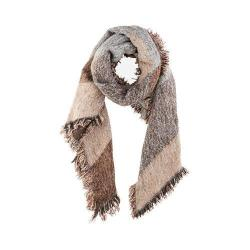 Women's San Diego Hat Company Knubby Tweed Scarf BSS1535 Brown