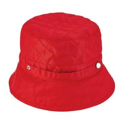 Women's San Diego Hat Company Quilted Rain Hat SDH3402 Red