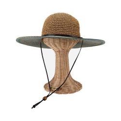 Women's San Diego Hat Company Ultrabraid Sun Hat w/ Chin Cord UBL6483 Blue