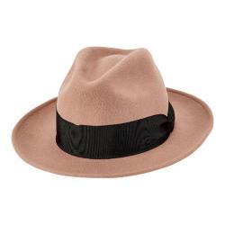 Women's San Diego Hat Company Wool Felt Fedora WFH8033 Camel