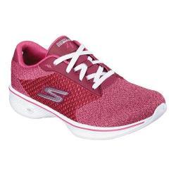 Women's Skechers GOwalk 4 Exceed Walking Shoe Raspberry