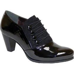 Women's Bellini Garnet Bootie Black Patent Polyurethane