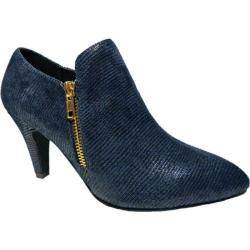 Women's Bellini Gem Bootie Navy Lizard Fabric