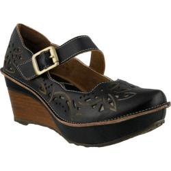 Women's L'Artiste by Spring Step Amrita Mary Jane Black Leather