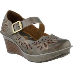 Women's L'Artiste by Spring Step Amrita Mary Jane Gray Leather