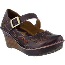 Women's L'Artiste by Spring Step Amrita Mary Jane Purple Leather