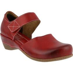 Women's L'Artiste by Spring Step Gloss Mary Jane Red Leather