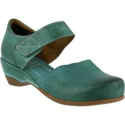 Women's L'Artiste by Spring Step Gloss Mary Jane Turquoise Leather