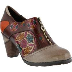 Women's L'Artiste by Spring Step Raina Slip On Gray Multi Leather