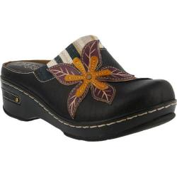 Women's L'Artiste by Spring Step Zaira Clog Black Leather