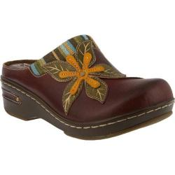 Women's L'Artiste by Spring Step Zaira Clog Brown Leather