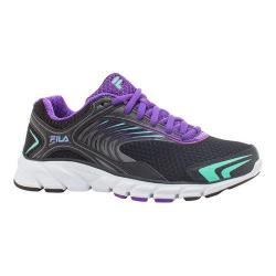 Women's Fila Memory Maranello 3 Running Shoe Black/Electric Purple/Cockatoo