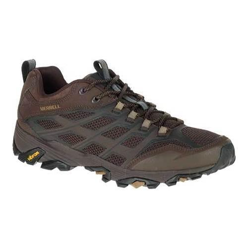 eed05caec5 Shop Men's Merrell Moab FST Hiking Shoe Brown - Free Shipping Today -  Overstock - 12048774