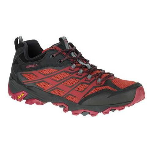 972434801b Shop Men's Merrell Moab FST Hiking Shoe Burgundy/Black - Free Shipping On  Orders Over $45 - Overstock - 12048775