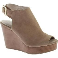 Women's Kenneth Cole New York Olcott Platform Sandal Taupe Suede