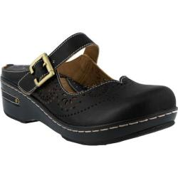 Women's L'Artiste by Spring Step Aneria Clog Black Leather