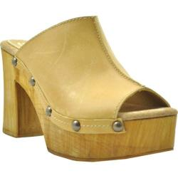 Women's Sbicca Manzanita Platform Slide Natural Leather