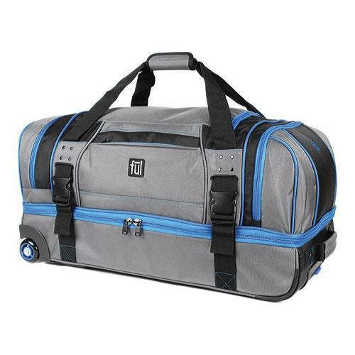 Ful Streamline 30 Inch Grey Nylon Soft Rolling Duffel Bag Ping The Best Deals On Bags