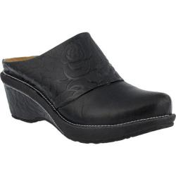 Women's L'Artiste by Spring Step Bande Clog Black Leather|https://ak1.ostkcdn.com/images/products/123/836/P18931755.jpg?impolicy=medium