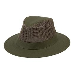 Men's San Diego Hat Company Canvas Fedora OCM4614 Olive