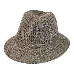 Women's San Diego Hat Company Knit Fedora KNH3434 Grey