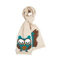 Women's San Diego Hat Company Owl Knit Scarf BSS1414 Plum