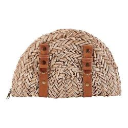 Women's San Diego Hat Company Seagrass Clutch BSB1563 Natural