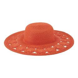 Women's San Diego Hat Company Ultrabraid Sun Hat UBL6481 Coral