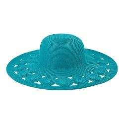 Women's San Diego Hat Company Ultrabraid Sun Hat UBL6481 Teal