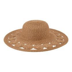 Women's San Diego Hat Company Ultrabraid Sun Hat UBL6481 Tobacco